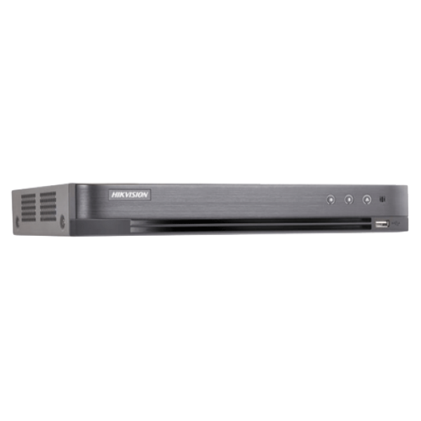 DVR 16 canale video 8MP, AUDIO HDTVI over coaxial - HIKVISION DS-7216HUHI-K2(S)
