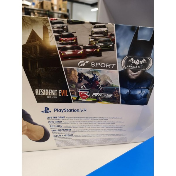 SONY PS VR + DEMO DISC - 8 DEMO GAMES