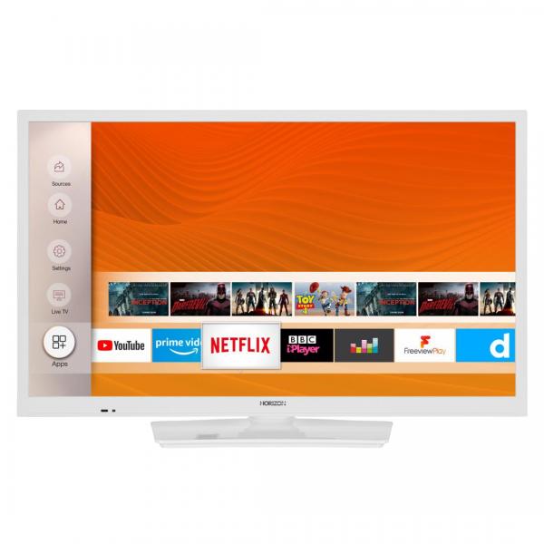 """LED TV 24"""" HORIZON HD-SMART 24HL6131H/B"""