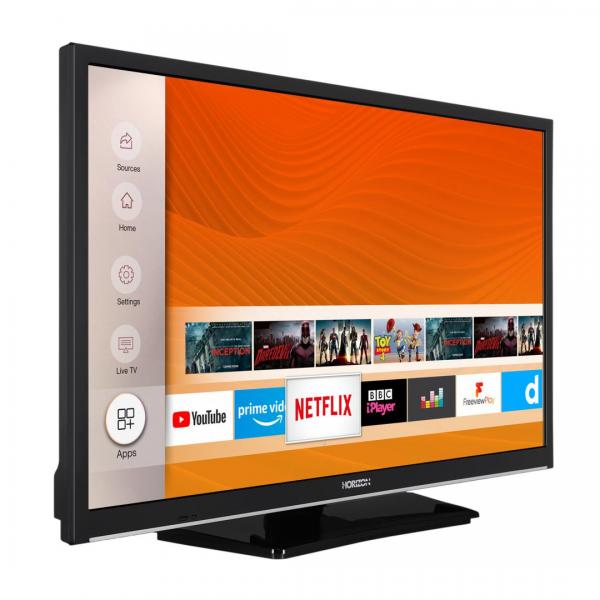 """LED TV 24"""" HORIZON HD-SMART 24HL6130H/B"""