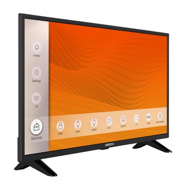 """LED TV 32"""" HORIZON HD 32HL6300H/B -BLACK"""