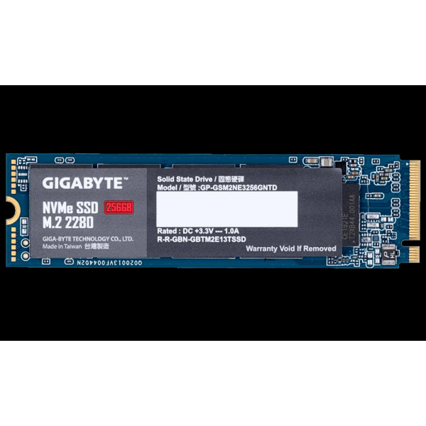 GIGABYTE SSD M.2 PCIe 256GB