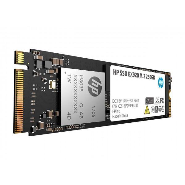 HP SSD 256GB M.2 2280 PCIE EX920