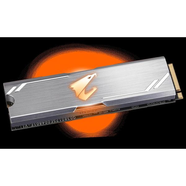 GIGABYTE AORUS RGB M.2 NVMe SSD 256G