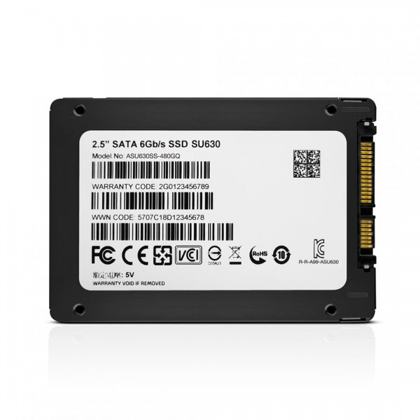 ADATA SSD 480GB 2.5 SATA3 SU630