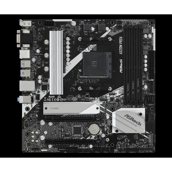 MB ASROCK A520M PRO4 AM4