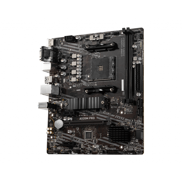 MB AMD MSI AM4 A520M PRO