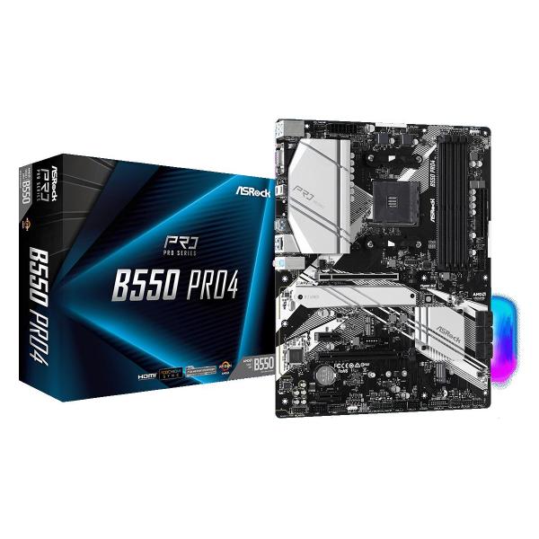 MB AMD AM4 ASROCK B550 PRO4