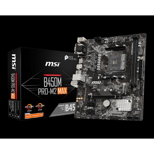 MB AMD MSI B450M PRO-M2 MAX