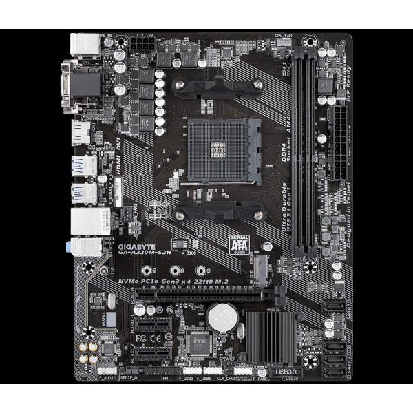 MB AMD GIGABYTE AM4 A320M-S2H