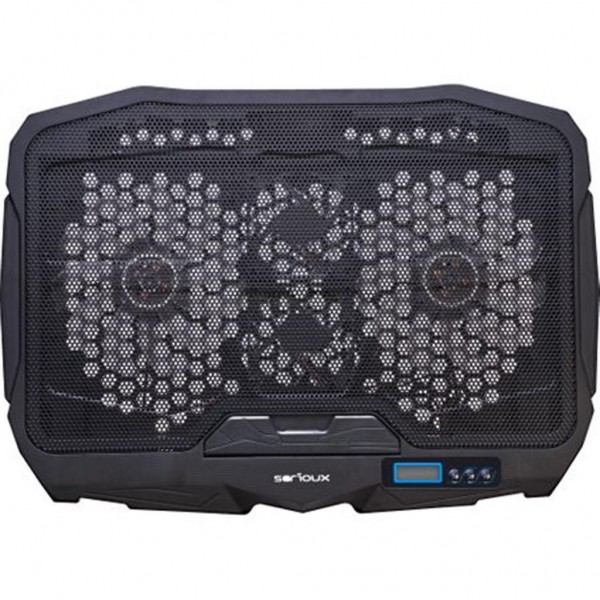 """LAPTOP COOLING PAD NCP025, USB, 10-17"""""""