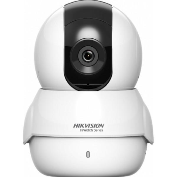 Camera de supraveghere IP miniPT, 2MP, IR 10m, 2mm, Hiwatch HWC-P120-D/W2.0W