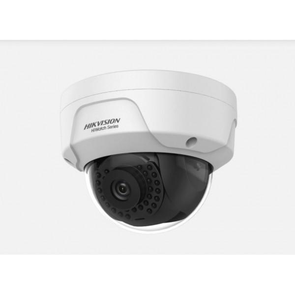 Camera de supraveghere IP Dome, 4MP, IR 30m, 2.8mm, Hiwatch HWI-D140H-M-28