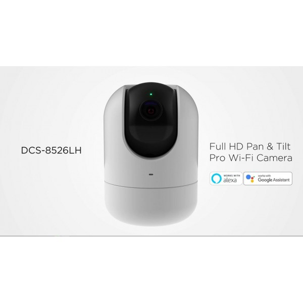 Camera de supraveghere IP miniPT, 2MP, IR 5m, 3mm, D-link DCS-8526LH