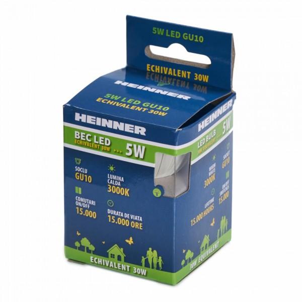 BEC LED HEINNER GU10 5W HLB-5WGU103K