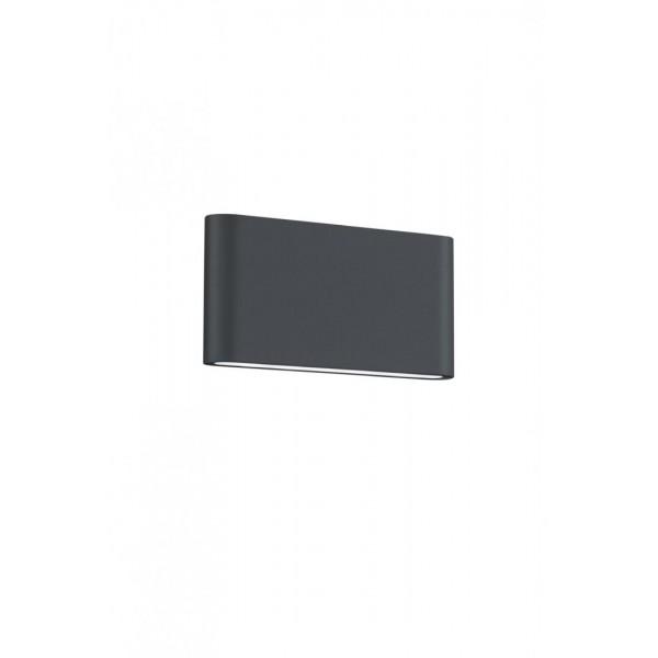 APLICA EXTERIOR LED INT. TRIO THAMES II