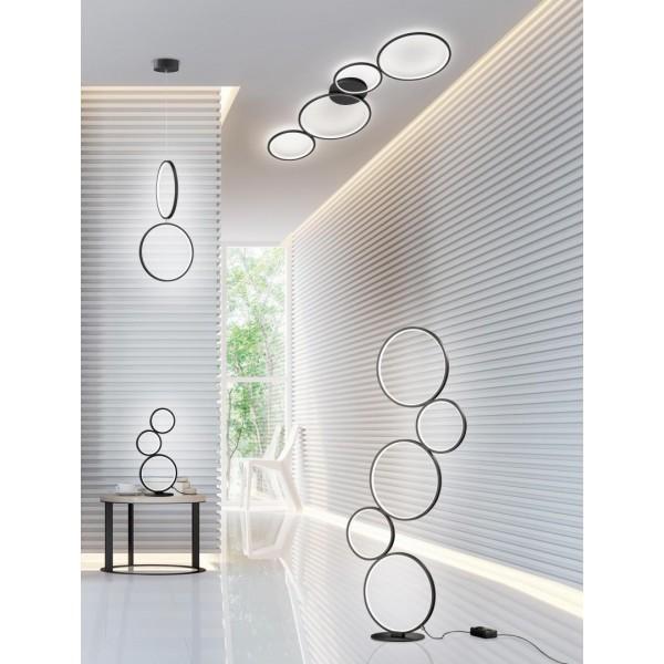 LAMPADAR LED INTEGRAT TRIO RONDO