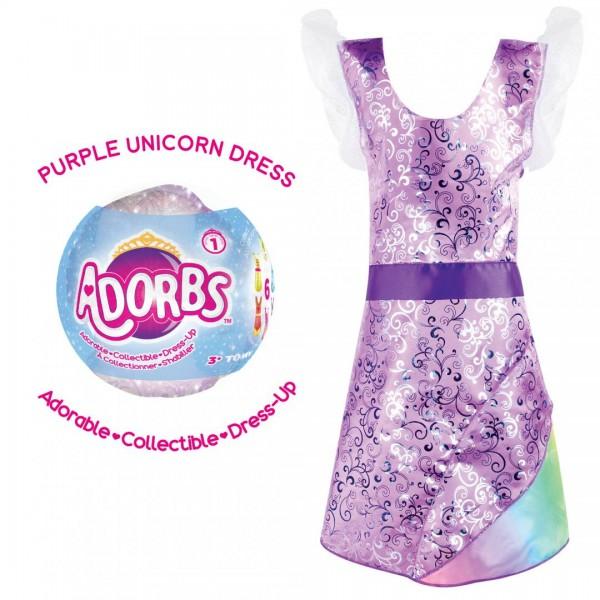 Adorbs- Costum tip rochie, mov