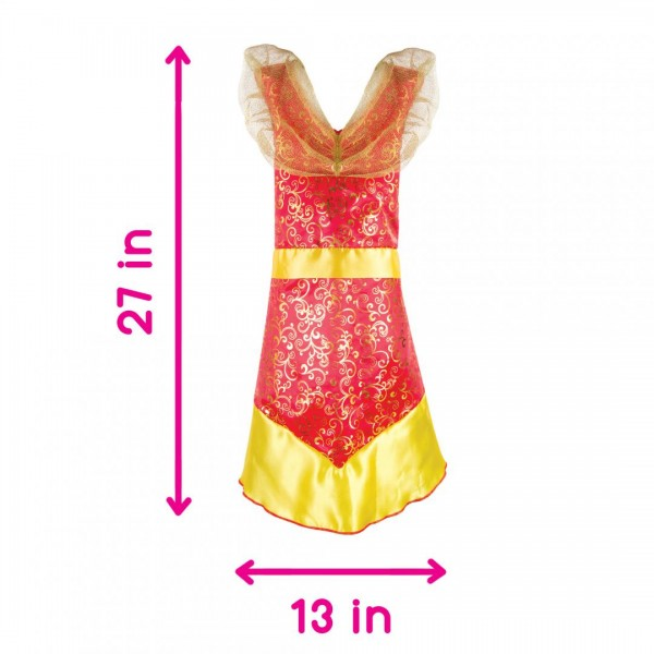Adorbs- Costum tip rochie, roșu