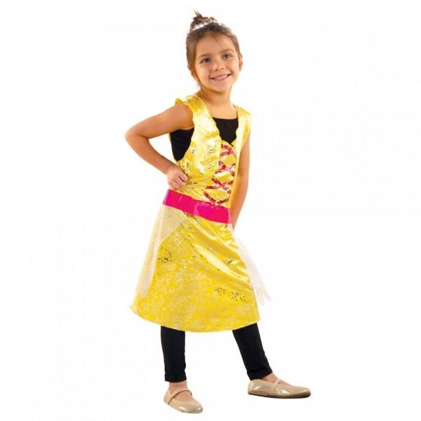 Adorbs- Costum tip rochie, galben