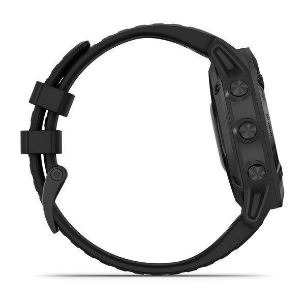 Fenix 6 PRO Slate Gray w/Black Band(Glas