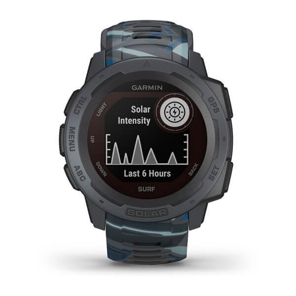 GR Instinct Solar Surf Ed GPS Watch Pipe