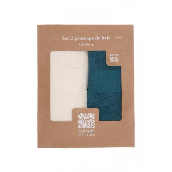 SET 2 PROSOAPE BAIE 50X90 CM - BLUE MIX