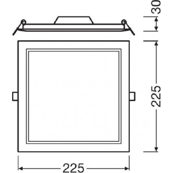 PANOU LED LEDVANCE 4058075079359