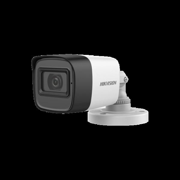 Camera 2MP, lentila 2.8mm, IR 30m, AUDIO integrat - HIKVISION DS-2CE16D0T-ITFS-2.8mm