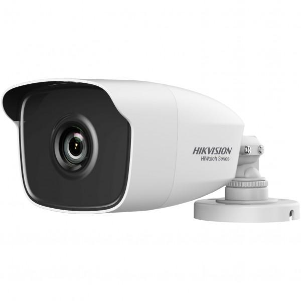 Camera de supraveghere Turbo HD Bullet, 1MP, IR 40m, 6mm, Hiwatch HWT-B210-M-6
