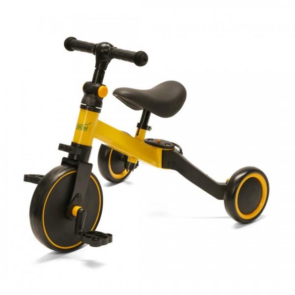 Tricicleta 2 in 1, Galbena UTR-001YKL